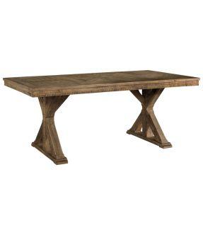 Baldwin Wooden Rectangular Dining Table