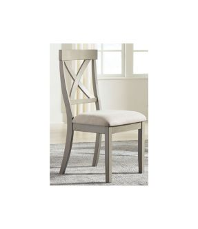Hobban Fabric Upholstered Wooden Dining Chair