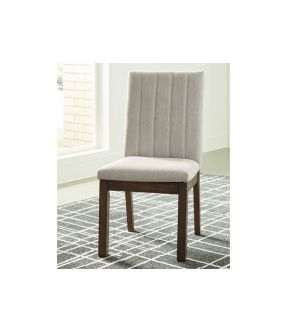 Mayona Fabric Upholstered Wooden Dining Chair