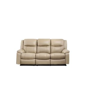 Jill Leather Recliner 3 Seater Sofa