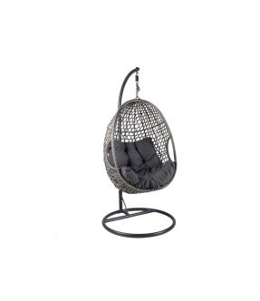 Manor Grey Hanging Eggs Chair