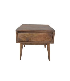 Catford Wooden Side Table with Drawer