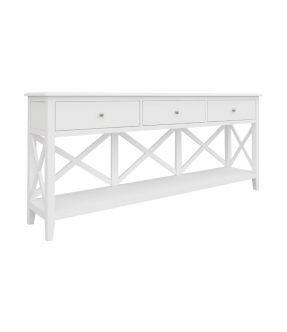 Bickley Wooden Console Table with 3 Drawer