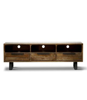 Fortis Wooden Entertainment Unit for 60 inch TV
