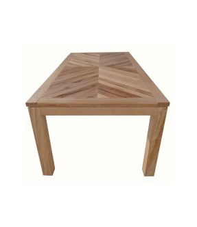 Covent Solid Wood Rectangular Dining Table