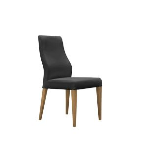 Covent Black PU Upholstered Dining Chair