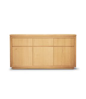 Covent Wooden Accent Cabinet with 3 Doors