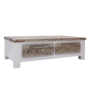 Hampstead Rectangular Solid Wooden Coffee Table