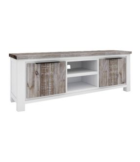 Sunbury Solid Wooden Accent Cabinet with 2 Drawers