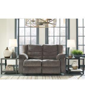 Yonkers Grey 2 Seater Fabric Reclining Sofa