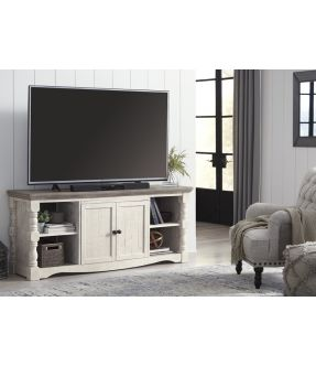 Werribee Wooden TV unit with 2 openings
