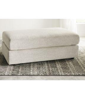 Wilsons Fabric Ottoman