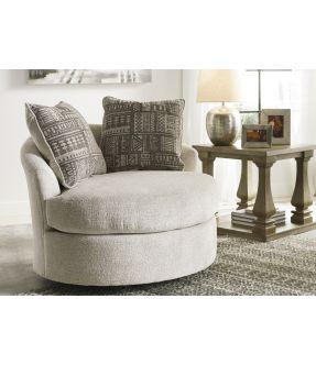 Wilsons Round Fabric Armchair