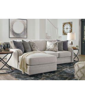 Washington 3 Seater Modular Fabric Sofa with Chaise