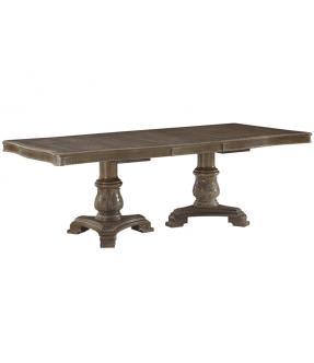 Uki Wooden Extensible Rectangular Dining Table