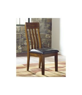 Natasia Faux Leather Upholstered Wooden Dining Chair