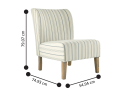 Abbotsford Fabric Accent Chair