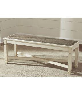 Watsonia Fabric Upholstered Dining Bench
