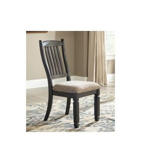 Tracy Fabric Upholstered Wooden Dining Chair