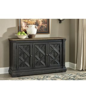 Tracy Wooden Accent Cabinet with 3 Doors