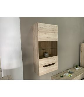 Wall mounted Glass fronted Cabinet - Kerby