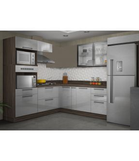Gourmet Corner Kitchen Sets with Storage