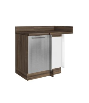 Gourmet Left Corner Kitchen Modular Cabinet