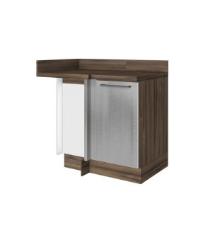 Gourmet Right Corner Kitchen Modular Cabinet