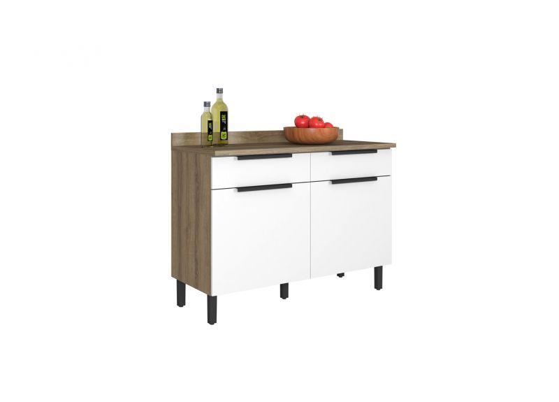 Ready made Premium Kitchen Set - Itamaxi White Flatpack DIY