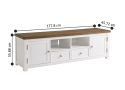 Valley Entertainment Unit for 65 inch TV