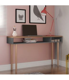 Burnley Home Office Desk with Open Storage