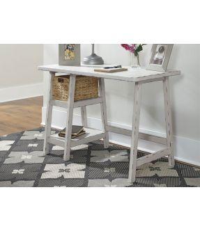 Sandridge White Home Office Small Desk