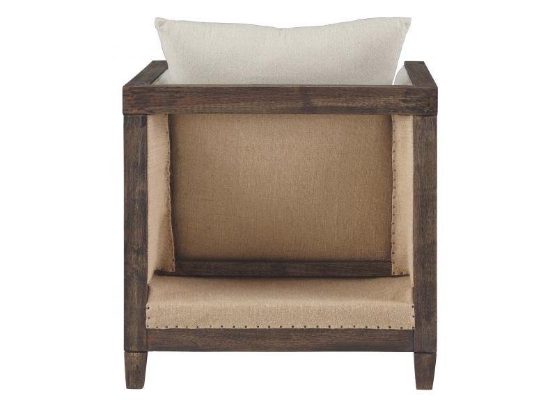 Balaclava Fabric Armchair