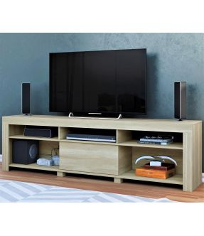 Pablo Large TV Entertainment Unit for 72 Inch TV - Made in Brazil
