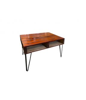 Northcote Vintage design Palette Side table With Storage compartment