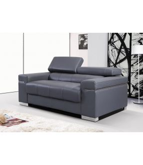Anastasia Leather 2 Seater Sofa