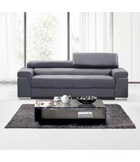 Anastasia Leather 3 Seater Sofa