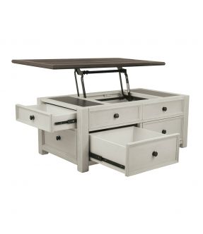 Watsonia Vintage Farmhouse Style Lift Top Coffee Table