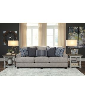 Werribee Fabric 3 Seater Sofa