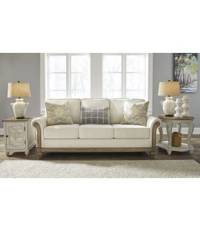 Aspendale Fabric 3 Seater Sofa