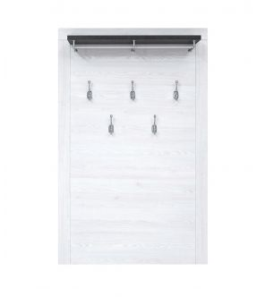 Flemington Wall Mounted Clothes Rack White
