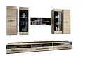 Fever Large Home Theatre Entertainment Unit with Storage - Floor Stock