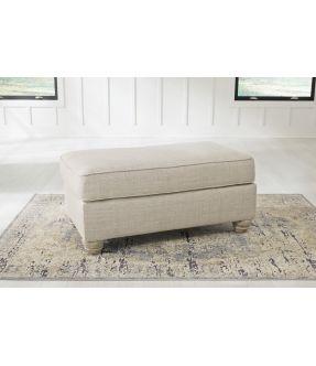 Charlotte Fabric Ottoman