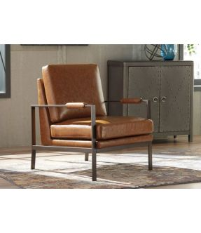 Viewbank Faux leather Armchair