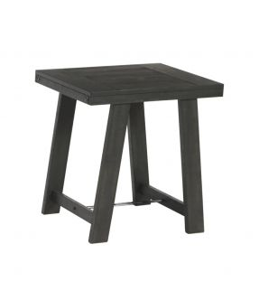 Bellfield Black Wooden Side Table