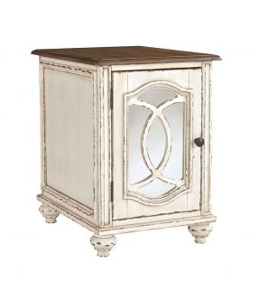 Caroline Solid Wooden Rectangular Side Table