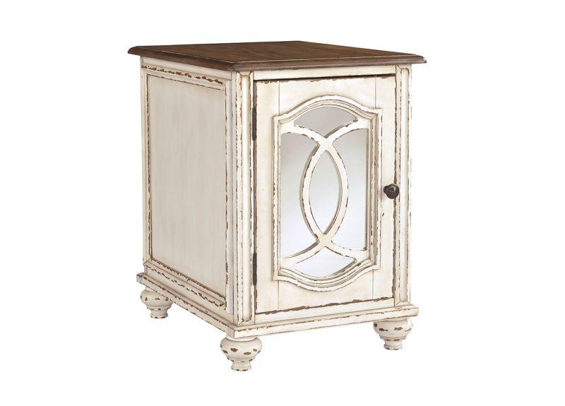Caroline Solid Wooden Rectangular Side Table