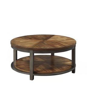 Doreen Circular Solid Wooden Coffee Table