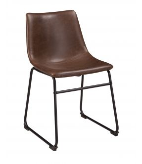 Flinders Mid-century Style Faux Leather Dining Chair