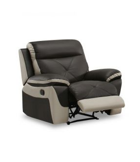 Jack Leather Recliner Armchair